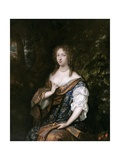 Portrait of Alida De Lange, Wife of Johan Rammelman, Ca. 1679 Giclee Print by Caspar Netscher