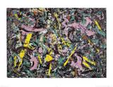 Unformed Figure, 1953  Plakater af Jackson Pollock