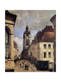 The Belfry of Douai, 1871 Giclee Print by Jean-Baptiste-Camille Corot