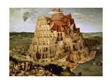The Tower of Babel Reproduction procédé giclée par Pieter Bruegel the Elder