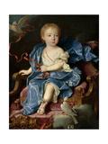 Maria Teresa Fernanda of Bourbon, Dauphine of Spain, Ca. 1731 Giclee Print by Jean Ranc