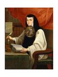 Juana Inés De La Cruz, 1772 Impressão giclée por Andres De Islas