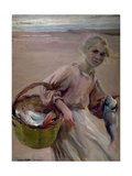 Pescadora Valenciana, 1900 Giclee Print by Joaquín Sorolla y Bastida