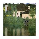 Water Castle, 1908 Gicléedruk van Gustav Klimt
