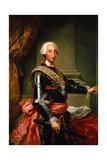 Charles III of Spain, C. 1761 Giclee Print by Anton Raphael Mengs