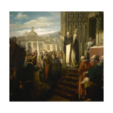 Compromise of Caspe, 1867 Giclee Print by Dioscoro Puebla
