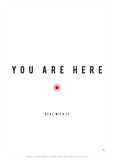 You Are Here Posters af Antoine Tesquier Tedeschi