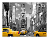 Yellow Cabs, Times Square Posters por Igor Maloratsky