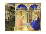 The Annunciation, 1426-1428 Giclée-Druck von  Fra Angelico