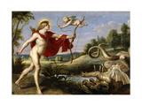 Apollo and the Python, 1636-1638 Giclée-Druck von Cornelis de Vos