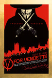 V for Vendetta Plakater
