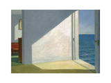 Rooms by the Sea Schilderij van Edward Hopper
