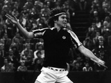 Backhand Volley by John Mcenroe Fotografisk tryk