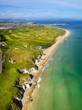 Aerial View over Whiterocks and Royal Portrush Photographic Print by Chris Hill