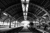 Vitebsk Railway Station, St Petersburg, Russia Lámina fotográfica por Jonathan Irish