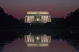 Lincoln Memorial at Dusk Photographic Print by Vickie Lewis