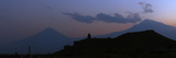 Evening Twilight Sky over Mount Ararat's Eastern Slope Photographic Print by Babak Tafreshi