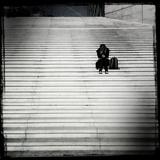 Texting Fotografisk tryk af Craig Roberts