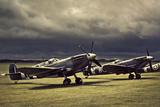 Spitfire Storm Photographic Print by David Bracher