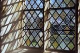 Detail of Stone-Framed Church Window Fotografisk trykk av Den Reader