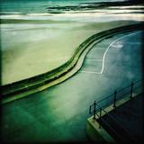 Scarborough Seafront Fotografisk tryk af Craig Roberts