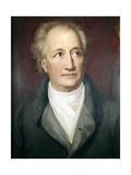 Portrait of Goethe Plakater af Heinrich Chrisoph Kolbe