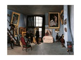 The Artist's Studio, Rue De La Condamine Pósters por Jean-Baptiste-Armand Guillaumin