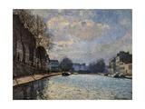 Canal Saint Martin Prints by Alfred Sisley