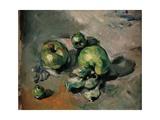 Grüne Äpfel Giclée-Premiumdruck von Paul Cézanne