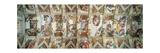 Sistine Chapel Ceiling, View of the Entire Vault Posters por  Michelangelo Buonarroti