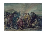 Holocaust of Noah Posters by Giovanni Carnovali (Piccio)