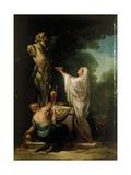 Sacrifice to Pan Affiches par Suzanne Valadon