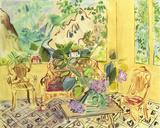 Vernet-les-Bains Giclee-trykk av Raoul Dufy