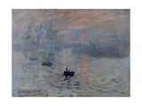 Impression, Rising Sun Poster by Claude Monet