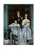 The Balcony Posters by Edouard Manet