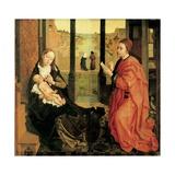 St. Luke Painting the Virgin Posters par Rogier van der Weyden