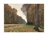 Road to Chailly Giclée-Premiumdruck von Claude Monet