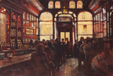 Dublin Pub Giclee Print by Clive McCartney