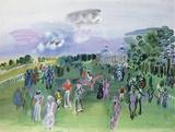 Longchamps Giclee-trykk av Raoul Dufy