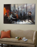 Room with a View II Posters av Willem Haenraets
