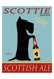 Scottie Scottish Ale Reproduction pour collectionneur par Ken Bailey