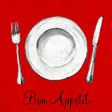 Bon Appetit Posters by Gina Ritter