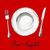 Bon Appetit Prints by Gina Ritter