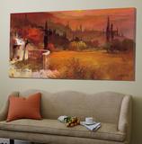 Romantic Tuscany I Poster van Willem Haenraets