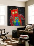 Funny Owl I Posters av Y. Hope