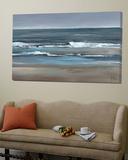 Peaceful Ocean View I Print by Jettie Roseboom