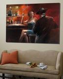 Evening in the Bar II Posters av Willem Haenraets