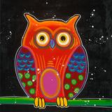 Funny Owl II Print by Y. Hope
