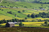 Swaledale in Summer from Askrigg High Road Near Muker Photographic Print by Mark Sunderland