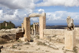 Cyrene, UNESCO World Heritage Site, Founded in 630 Bc, Libya, North Africa, Africa Fotografisk tryk af Oliviero Olivieri